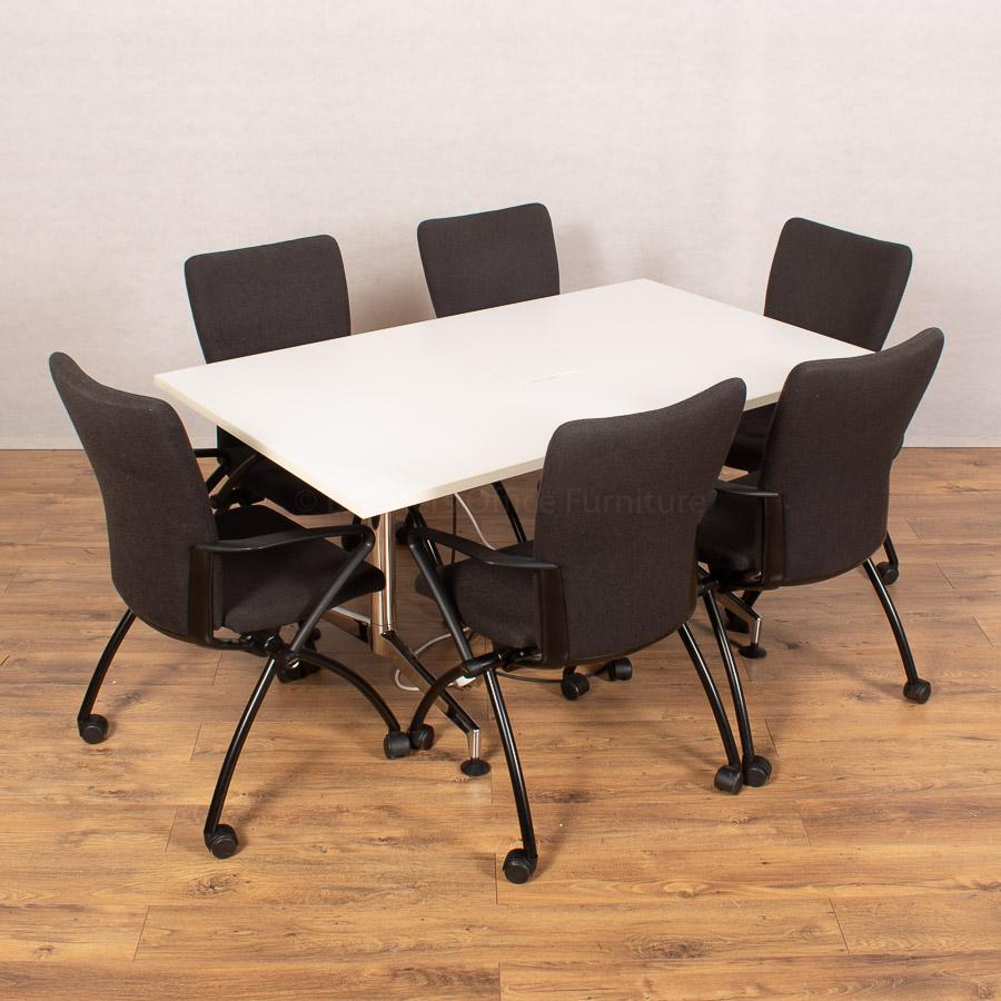 Kusch White 1500x900 Meeting Table (MT286)