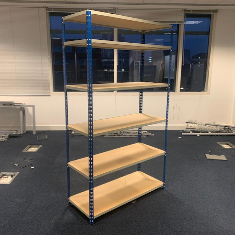 Archive Shelving/Racking with 6 Shelves