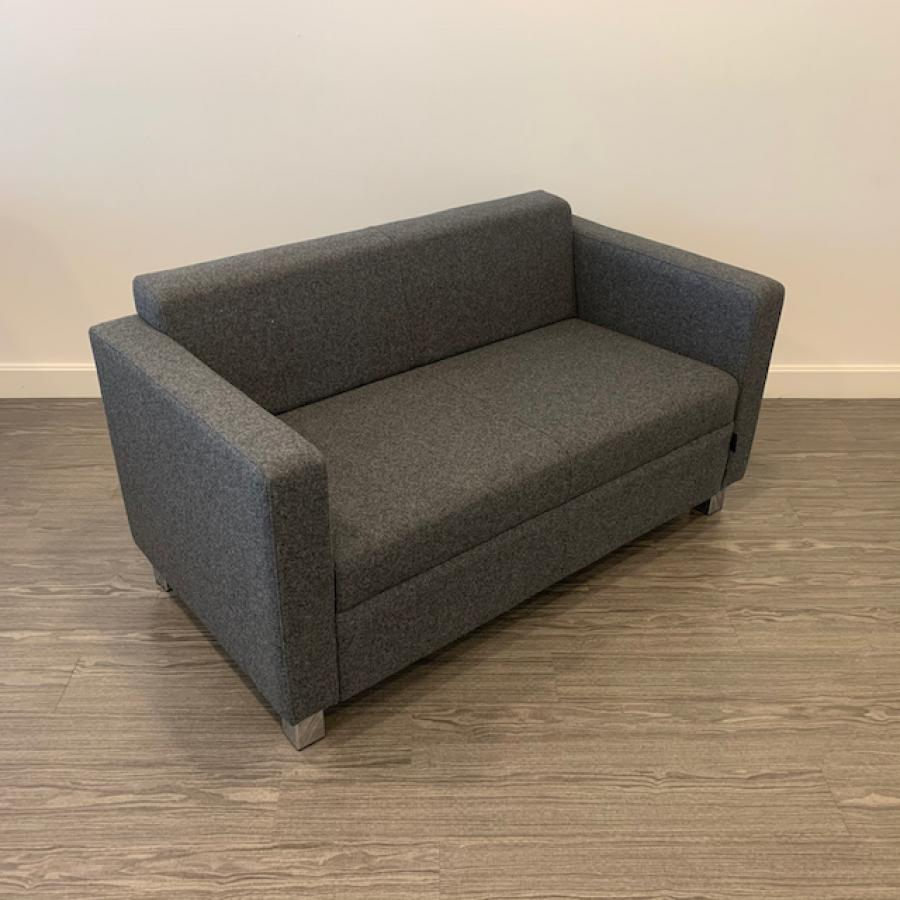 Moment Grey Reception Sofa