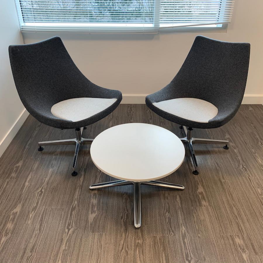 Moment Grey Reception/Breakout Suite