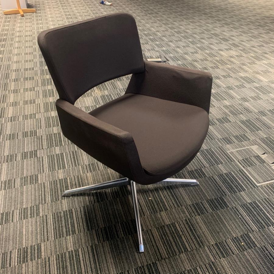 Connection Korus Grey Reception/Breakout Chair