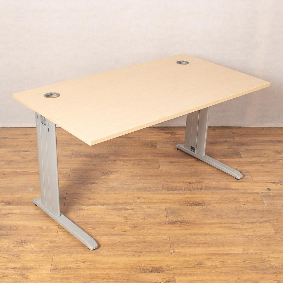 Maple 1400x800 Straight Desk (SD206)