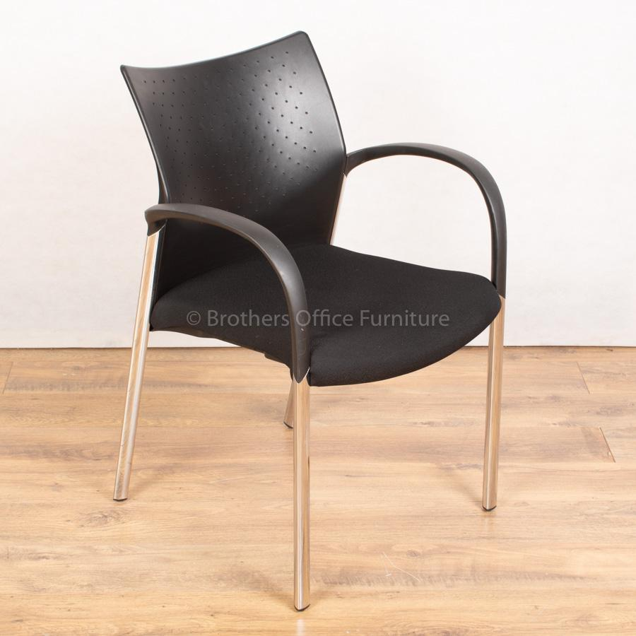 Senator Trillipse Chrome Frame Meeting Chair | 4 L