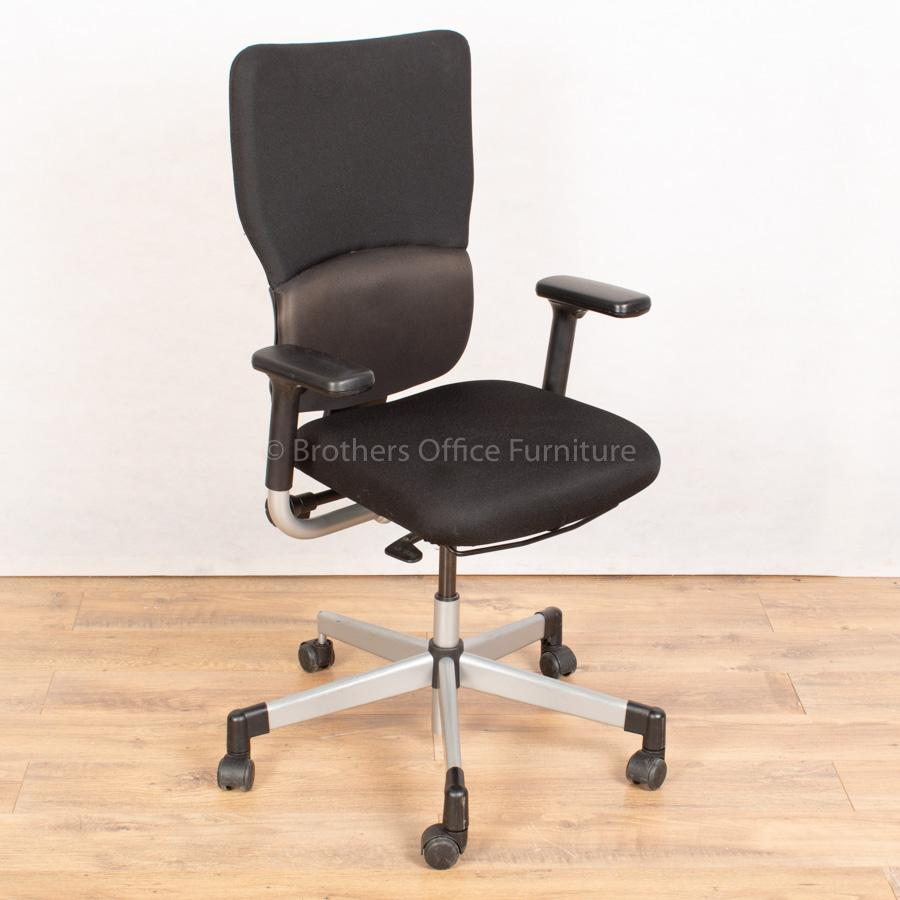 Steelcase Lets B Operators Chair | Grey Base