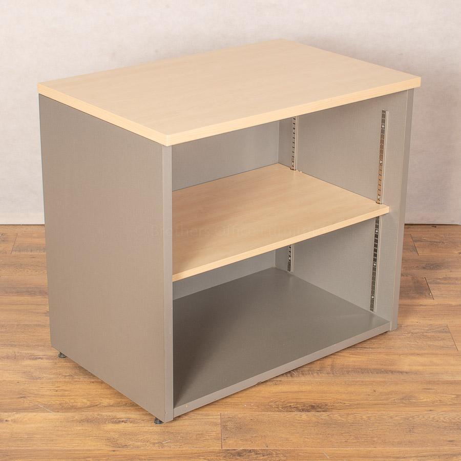 Sven Maple/Silver 730H x 800W Bookcase