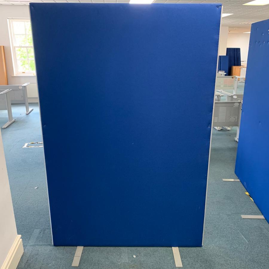 Blue 1800H x 1200W Room Dividing Screen