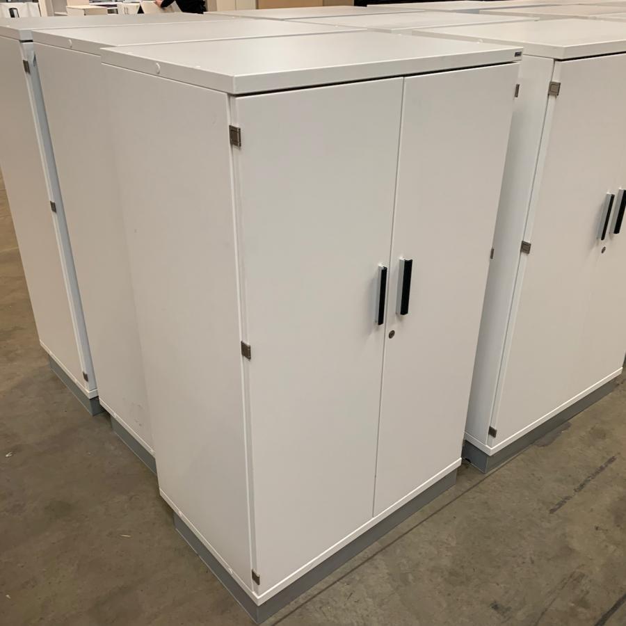 Kinnarps White 1335H x 800W x 500D Office Cupboard