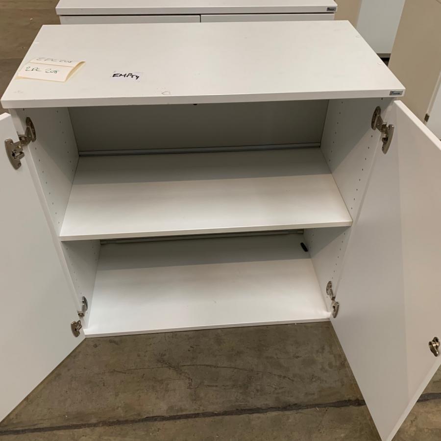 Kinnarps White 810H x 800W x 400D Office Cupboard