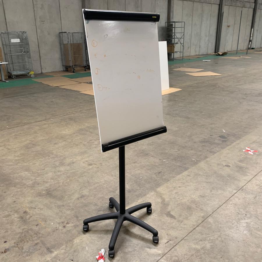 Bi-Office Mobile Flipchart Easel/Whiteboard