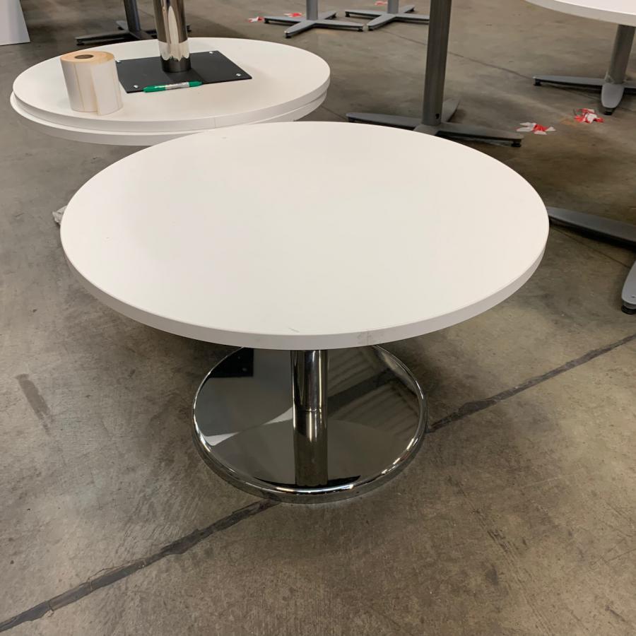 White 495H x 800D Coffee Table
