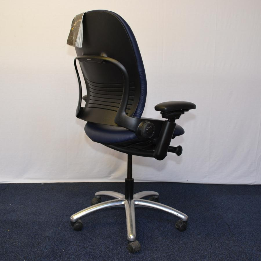 28+ [ Leather Task Chair ] | B1560 Boss Armless Mid Back ...