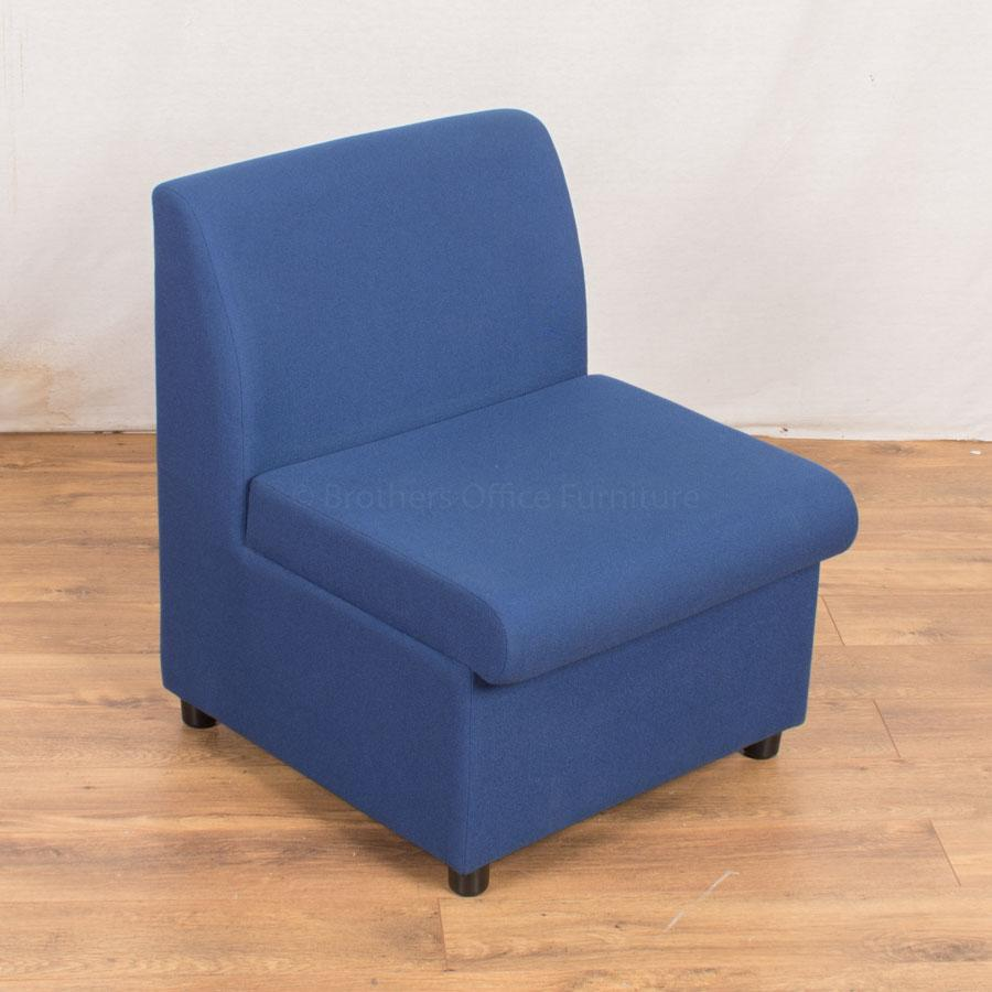 Blue Fabric Modular Reception Seating