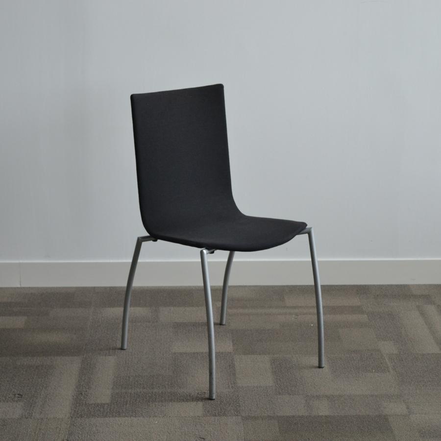 Kinnarps Black Stackable Meeting Chair
