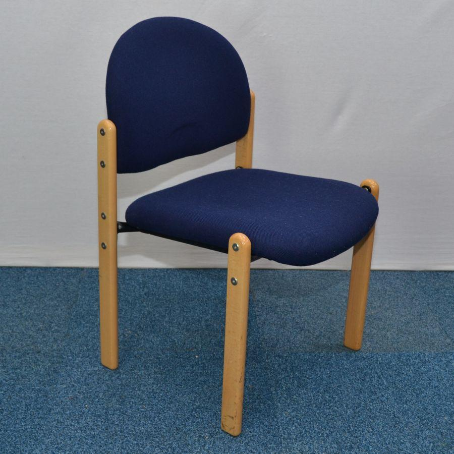 Royal Blue Stacking Chair