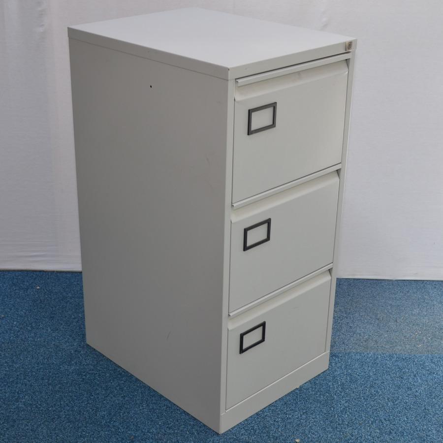 reputable site 4308d 7494b Triumph Trilogy Grey 3 Drawer Filing Cabinet