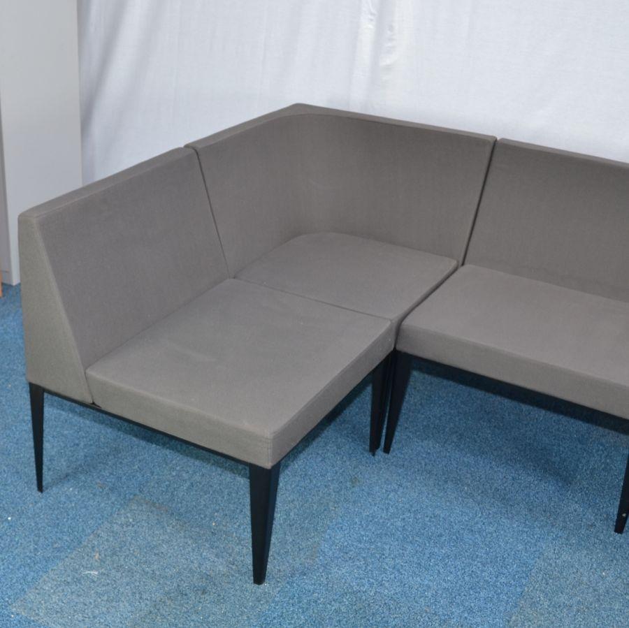 Grey Modular Reception Seating