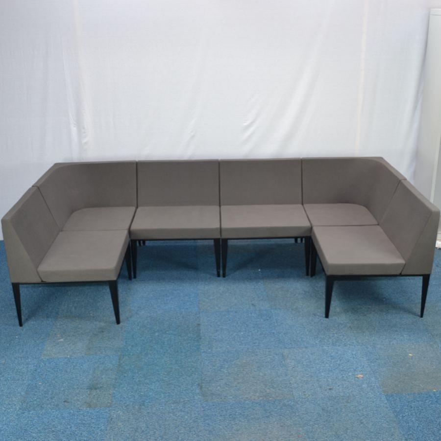 Grey Modular Reception Seating