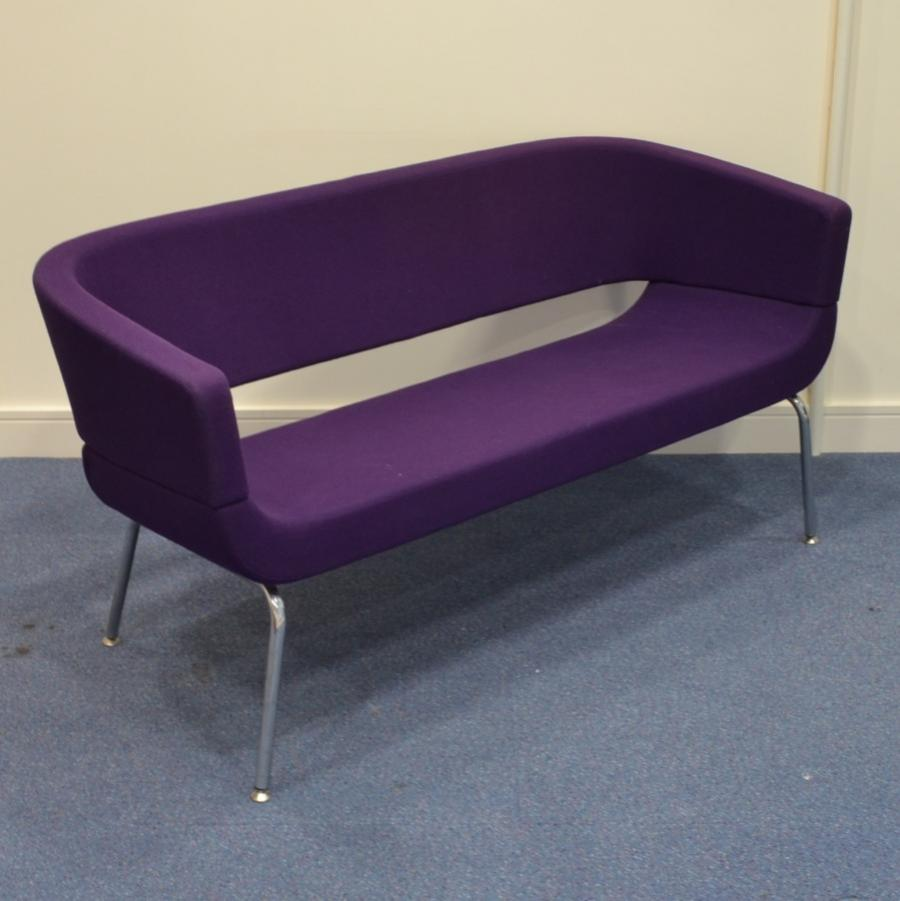 Allermuir Purple Reception Sofa