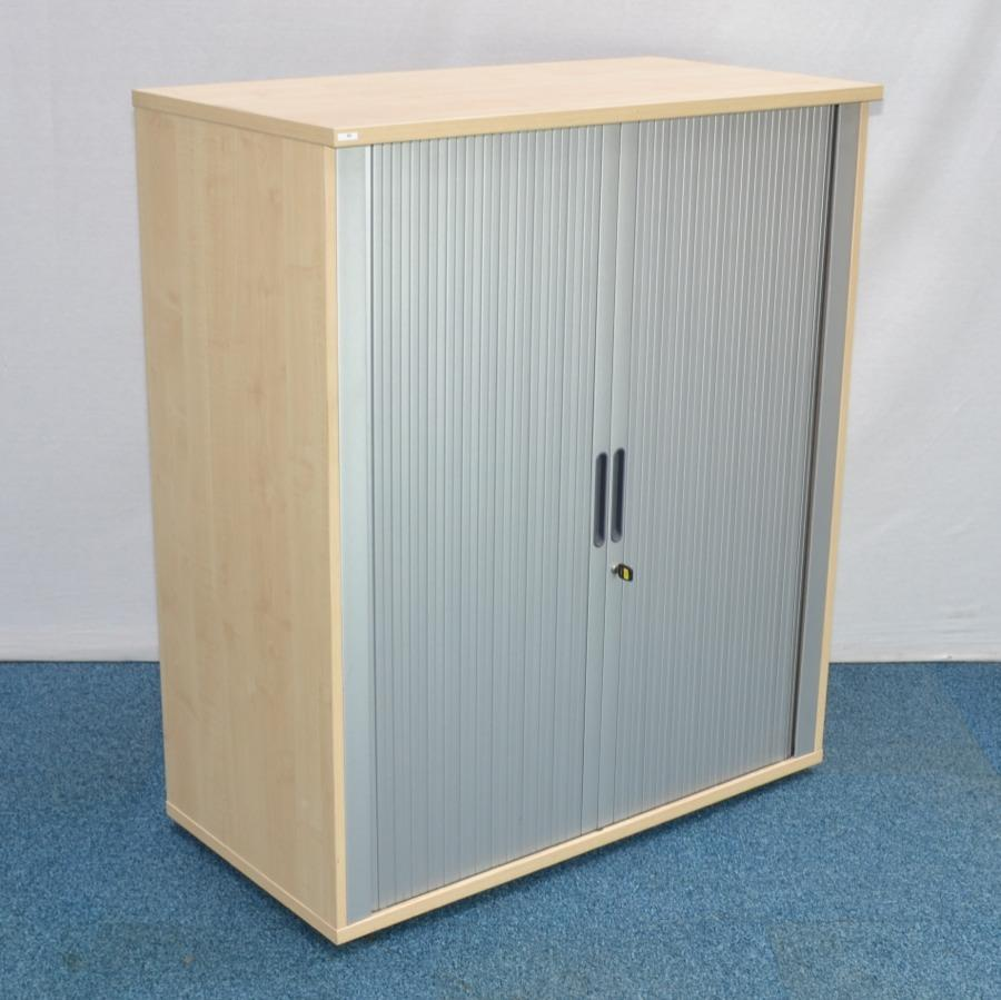 Kentec Maple 1200H Tambour Cupboard