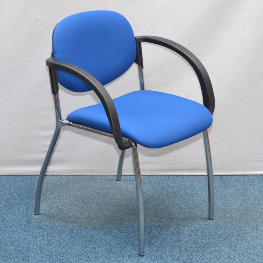 HOG Blue Stacking Chair