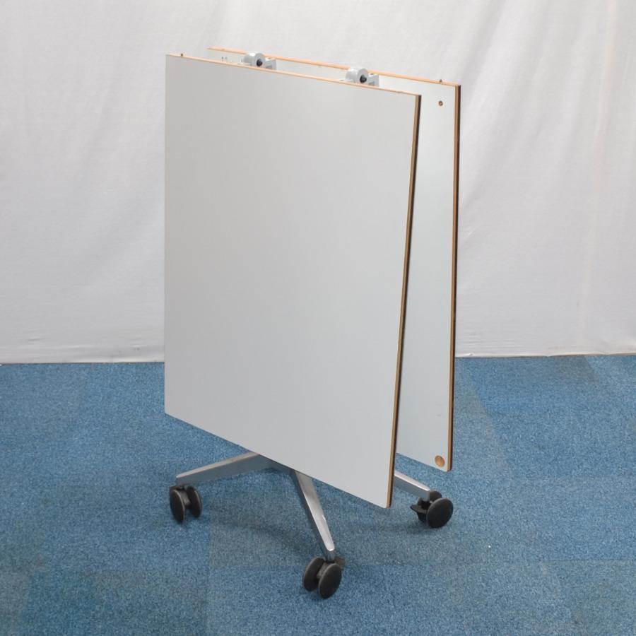 Wilkhahn Confair White 2250x900 Fold Up Meeting Table