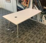 Mobili White 1600x800 Meeting Table (MT288)