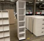 Kinnarps White 2315H x 400W x 400D Bookcase
